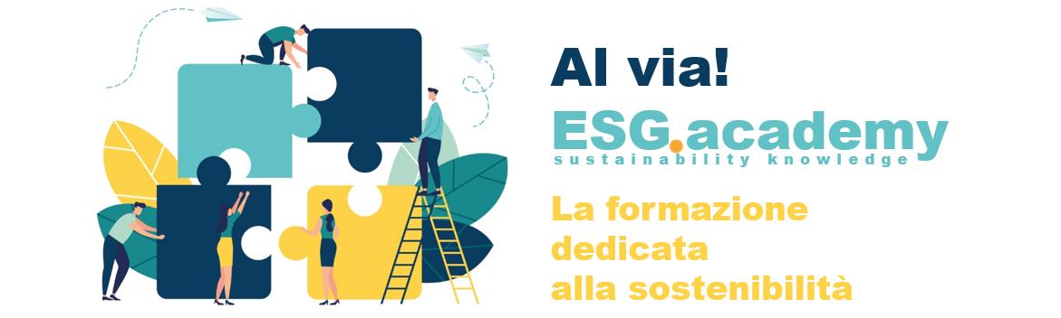 Al via ESG.academy